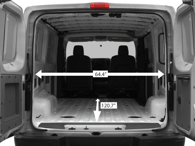 Nissan 4x4 Van Cargo Dimensions