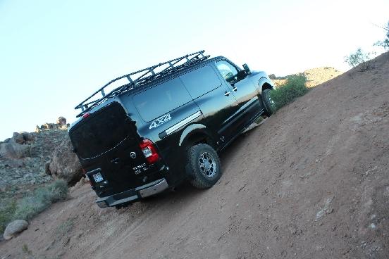 nissan 4x4 van conversion advanced 4x4 vans. Black Bedroom Furniture Sets. Home Design Ideas
