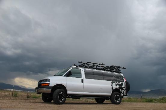 chevy diesel van 4x4