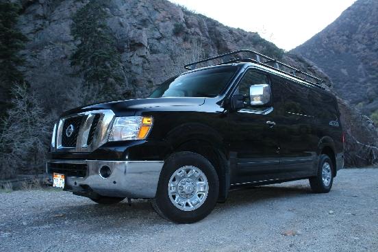 Nissan 4x4 Van Conversion - Advanced 4X4 Vans