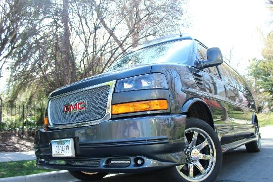 GM 4x4 Van Conversion - Advanced 4X4 Vans